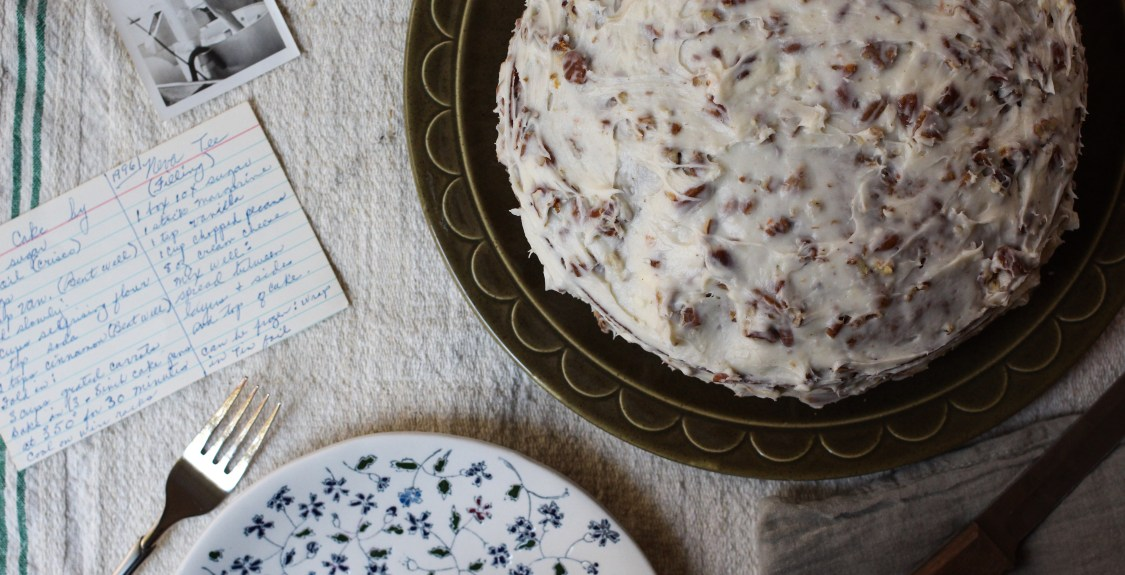 Neva's Carrot Cake+Spent Rye Grains