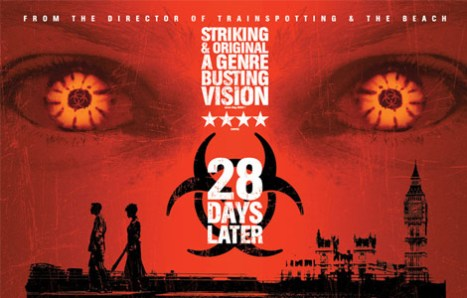 A Movie Poster For 28 Days Later