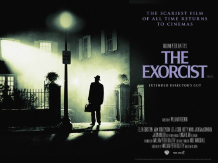 A Movie Poster For The Exorcist