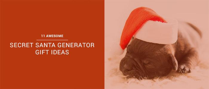 11 Awesome Secret Santa Generator Gift Ideas