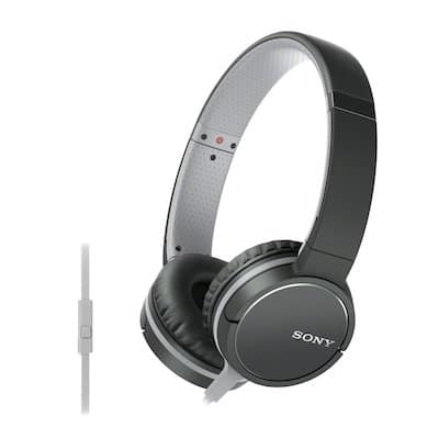 Sony MDR-ZX660AP Lightweight On-Ear Headphone with Smartphone Control