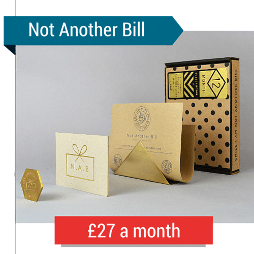 Not Another Bill Subscription Box
