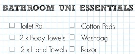 179 University Essentials You 39 Ll Hate To Forget Sensible