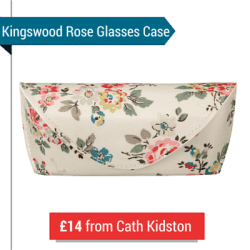 A Cath Kidston Floral Glasses Case