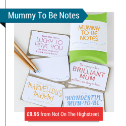 Mummy To Be Note Pack Of 12