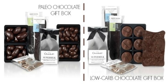 A Paleo Chocolate Gift Box And A Low-Carb Chocolate Gift Box