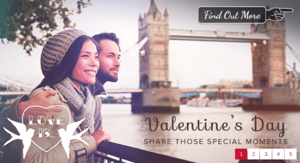 A Promotional Image For Virgin Experience Days Valentines Deals