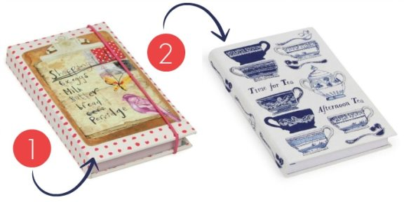 Two Notebooks, One For Shopping Lists And One A Plain Paged Notebook