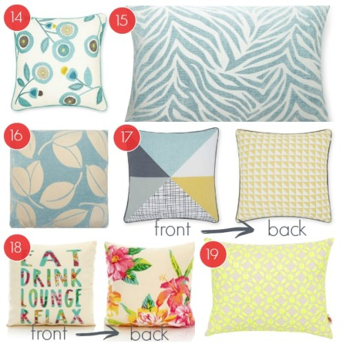 6 Spring Cushion Ideas