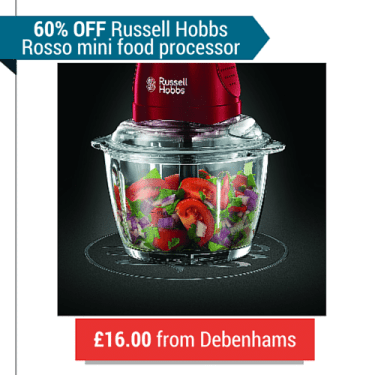A Mini Food Processor From Russell Hobbs