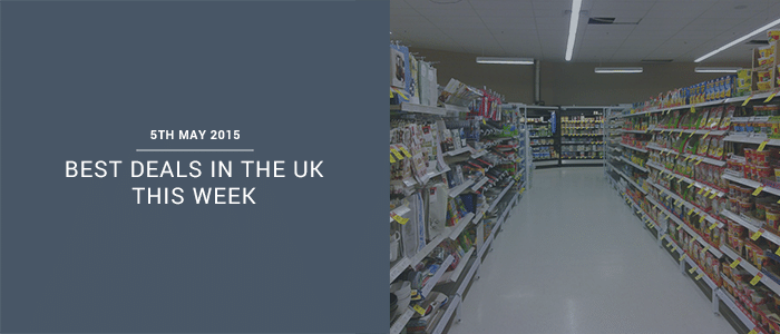 Best Deals In The UK This Week – 5th May 2015
