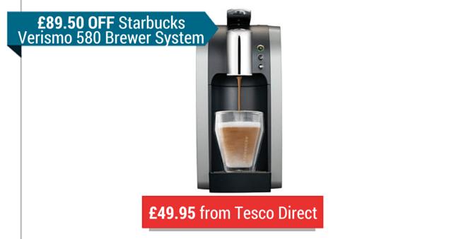 Starbucks Coffee Machine Deal