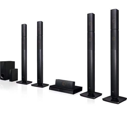 LG LHB655NW 5.1 3D Blu-ray & DVD Home Cinema System