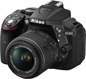nikon-d5300 DSLR camera