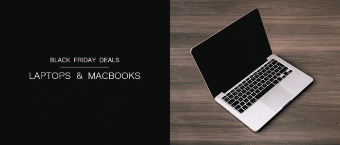 Best Laptop & MacBook Deals for Black Friday 2016