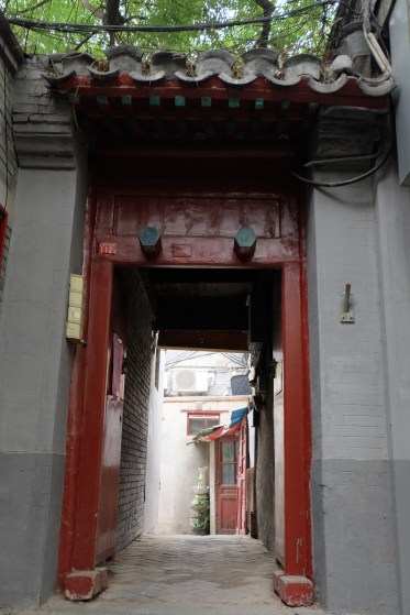 Hutong passage