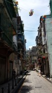 Side street, old Macau