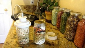 Meals in a jar for long-term food storage