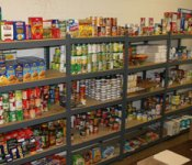 Food pantry for long-term food storage