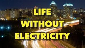 No electricity power internet