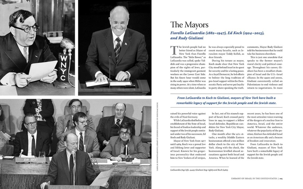 Interior spread: The Mayors