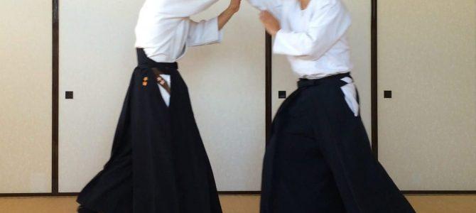 合気道 〜抑え技〜
