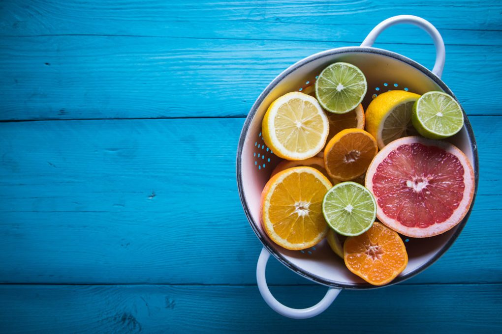Like cannabis, citrus fruits contain limonene, linalool, citral, and terpinene