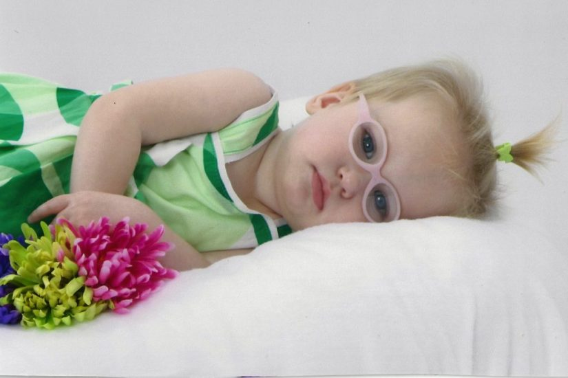 Harper Elle Howard tragically lost her life to CDKL5 despite CBD treatments (© hope4harper.com)
