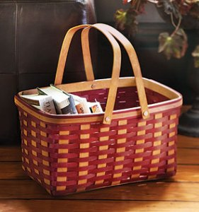 Market Basket Prayer Chair