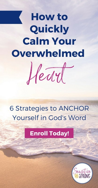 How to Quickly Calm Your Overwhelmed Heart
