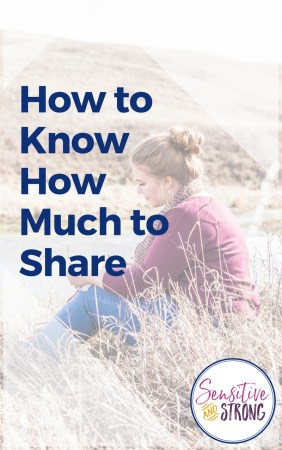 How to Know How Much to Share
