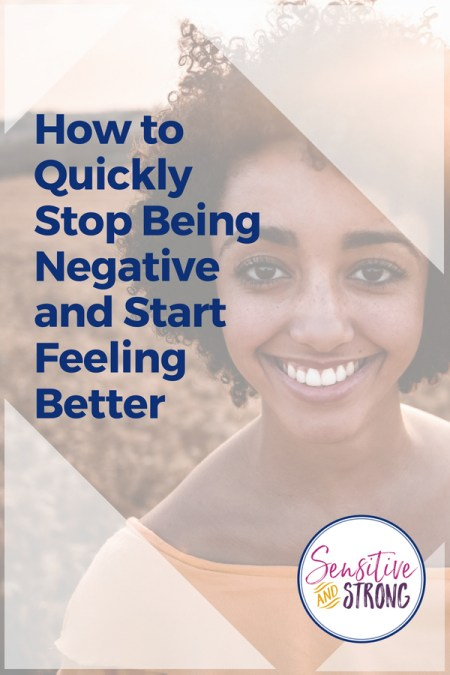Woman smiling — How to Stop Being Negative and Start Feeling Better