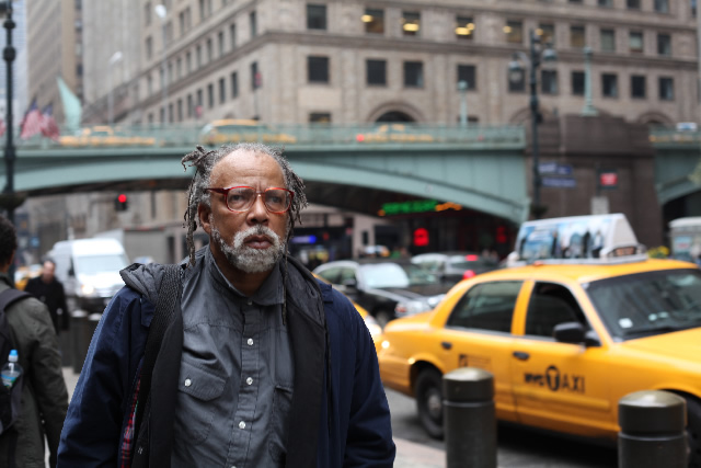 Darius James in NYC