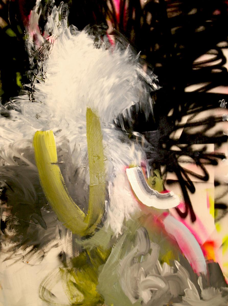 Justine Frischmann - paintings