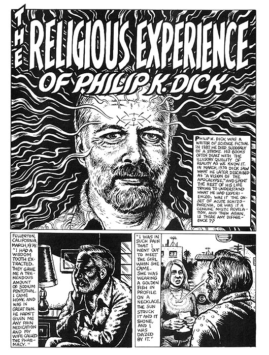 The Religious Experience of Phillip K. Dick, Part 1
