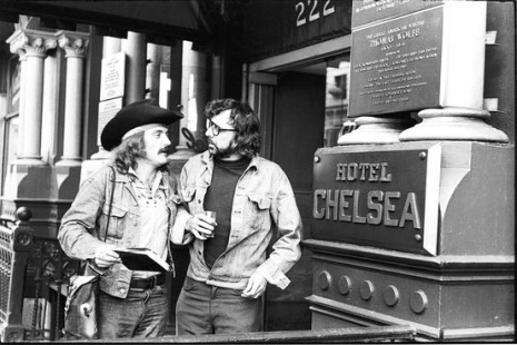 Dennis Hopper and Terry Southern