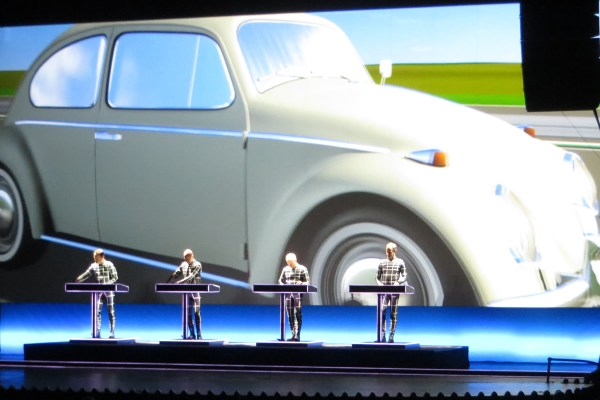 Kraftwerk 3D, live at the United Palace Theater