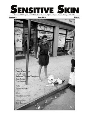 Sensitive Skin #3 cover photograph by Ted Barron