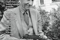 Sensitive Skin #8 cover William S. Burroughs photograph by Ruby Ray