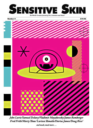 Sensitive Skin #9 cover illustration by JD King