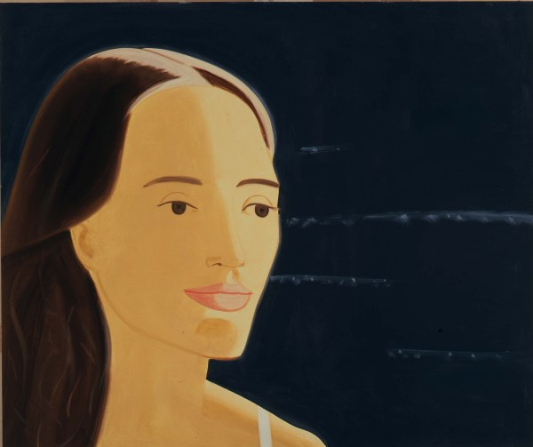 Catherine, painting by Alex Katz