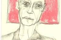 John Giorno drawing by David West