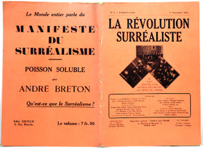 The first issue of La révolution surréaliste, 1924