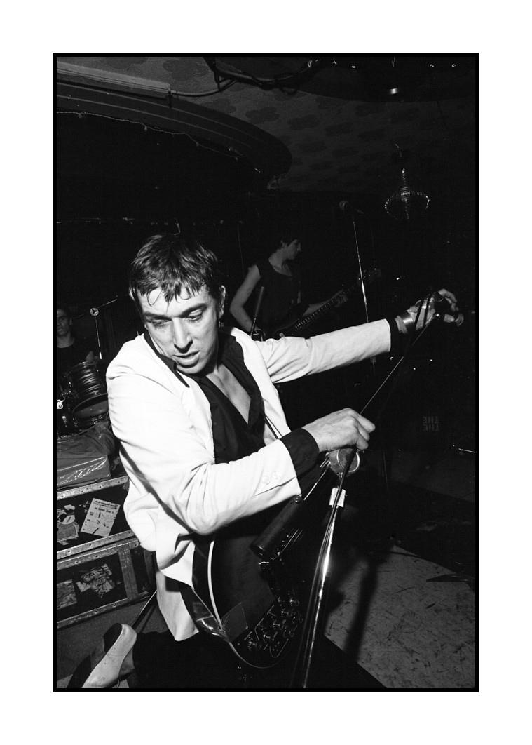 John Cale at Bookie's Club 870, 1979
