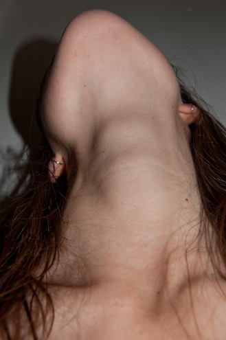 Throat, photograph by Pauline Thomas