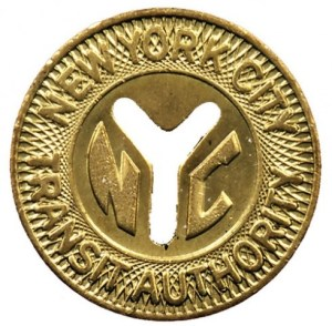 subway token