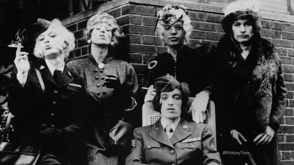 The Rolling Stones in Drag