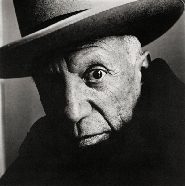 Irving Penn Pablo Picasso Cannes 1957