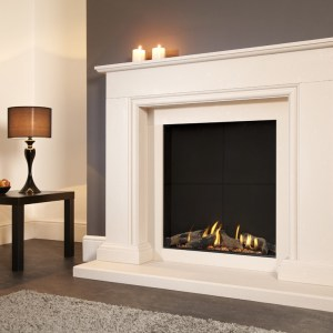 Flavel Sophia Slimline Balanced Flue Gas Fire Suite