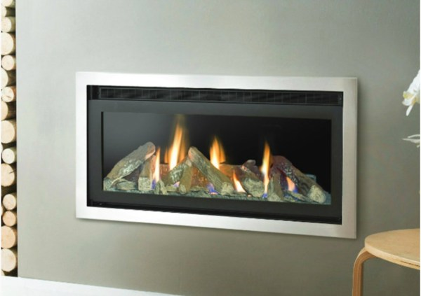 Eco-Panorama Gas Fire